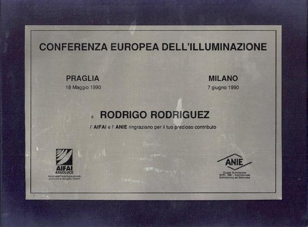 1990 riconoscimento ANIE