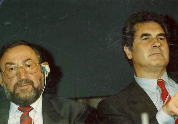 1992, Bruxelles: con Bernard Posner