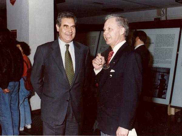 2004 – con Jurgen Engels, presidente UEA