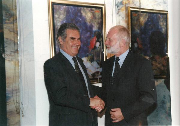 2005 con Helmut Lubke, presidente VDM